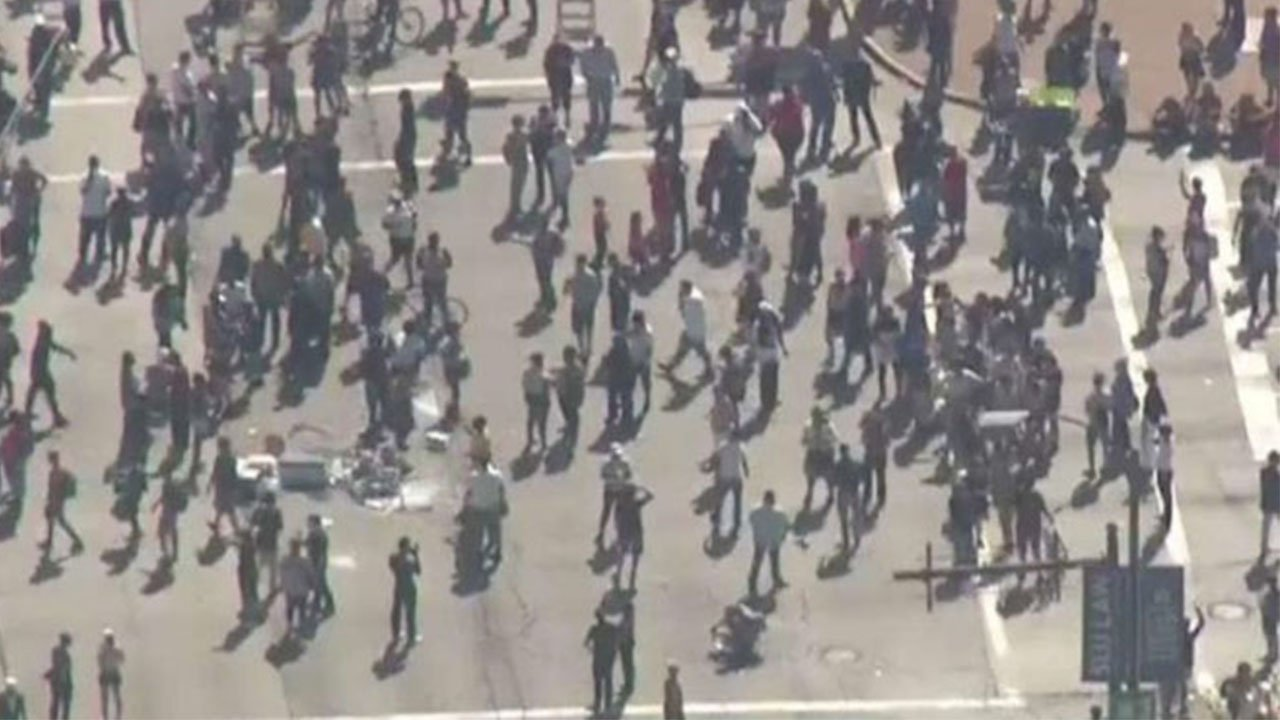 St Louis Protests: Peaceful by Day, Violent by Night