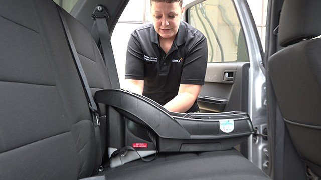 Study shows more infants, toddlers placed in vehicle seats correctly