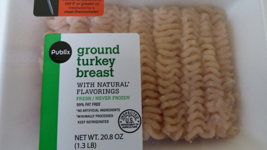 Ground turkey products distributed in TN recalled