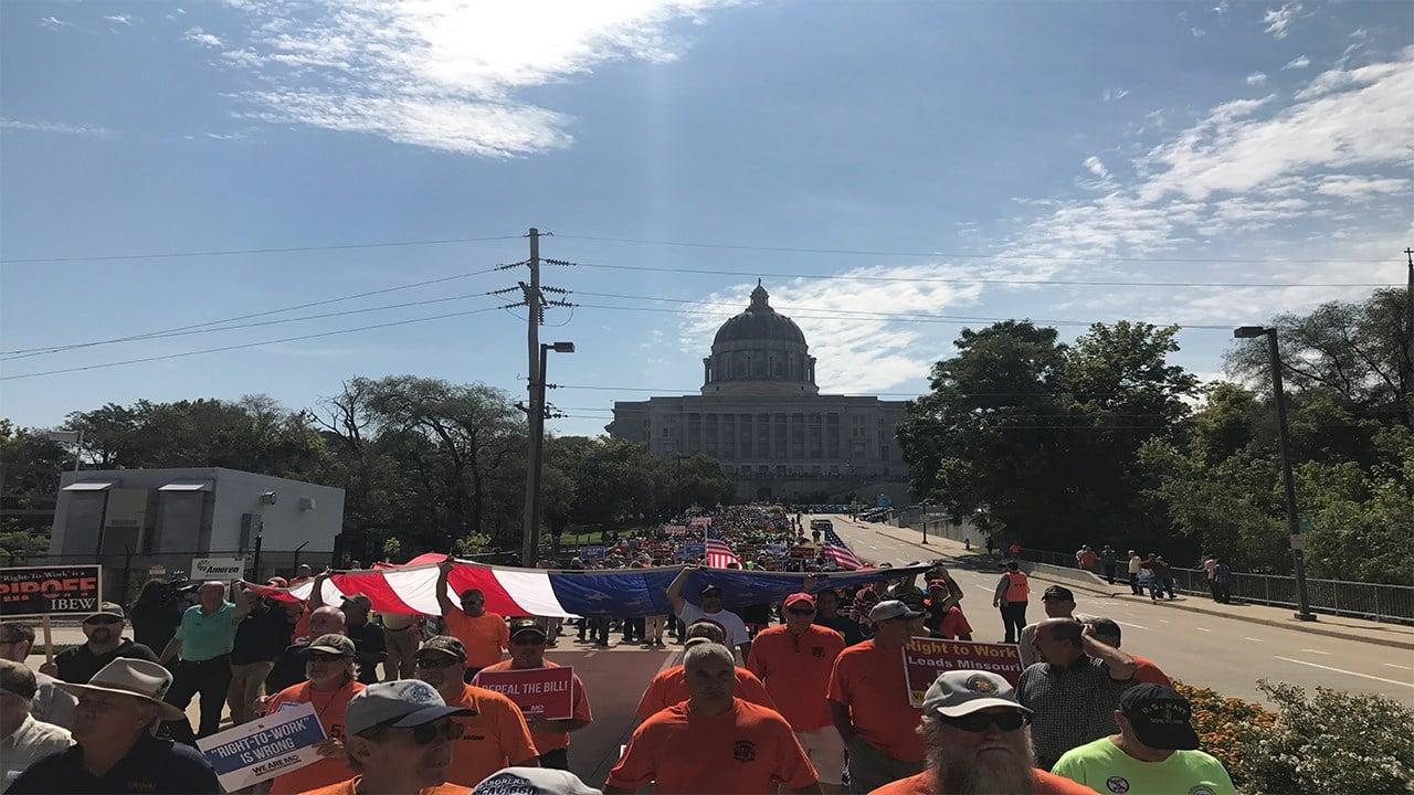 (Photo courtesy: Derick Barnes, Laborers Local 663)