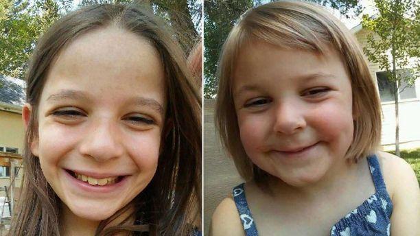 Dinah Elizabeth Coltharp, left, and Hattie Briella Coltharp were found safe in December.  (Iron County Sheriff's Office)