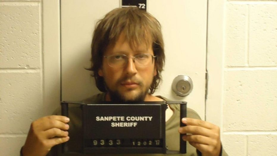 John Coltharp was arrested on Friday on suspicion of kidnapping his two daughters. (Sanpete County Jail)