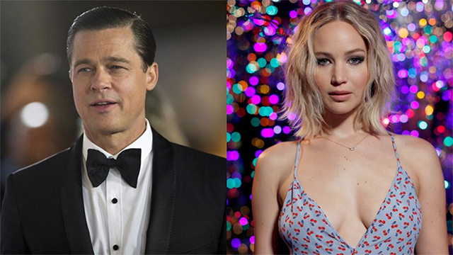 Brad Pitt and Jennifer Lawrence spotted together