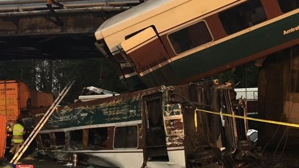 Multiple deaths after Amtrak train derails