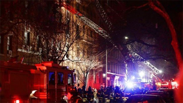 12 dead in fast-moving New York City apartment fire