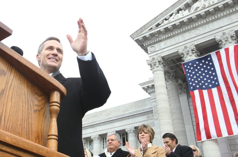 Missouri Governor Greitens makes it clear affair is all there is