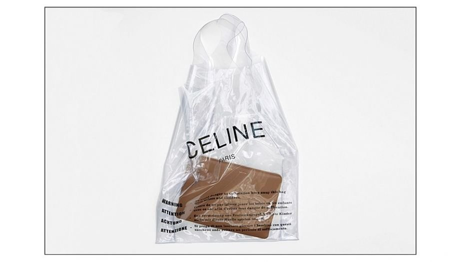 The clear bag will cost you a pretty penny.  (Nordstrom)
