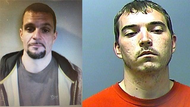 Brandon James Junek (Left), Edward Call (Right).