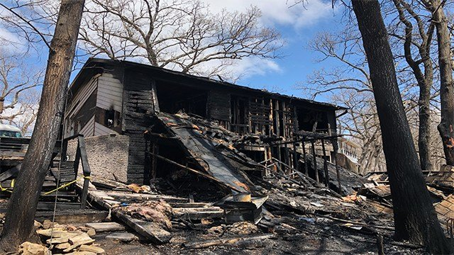 Four brothers home alone killed in Lake Ozark house fire