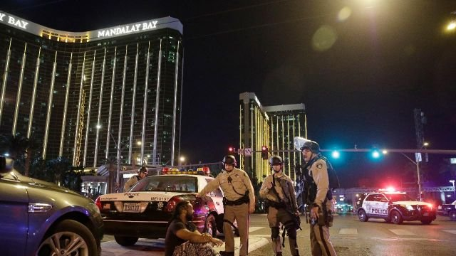 Authorities release first police video from Las Vegas massacre