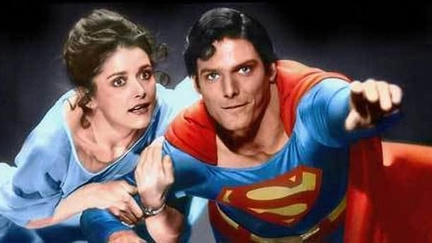 "Actress Margot Kidder shown in scene from the 1978 movie ""Superman"" with Christopher Reeve. The actress died on Sunday at age 69.  (Warner Bros.)"