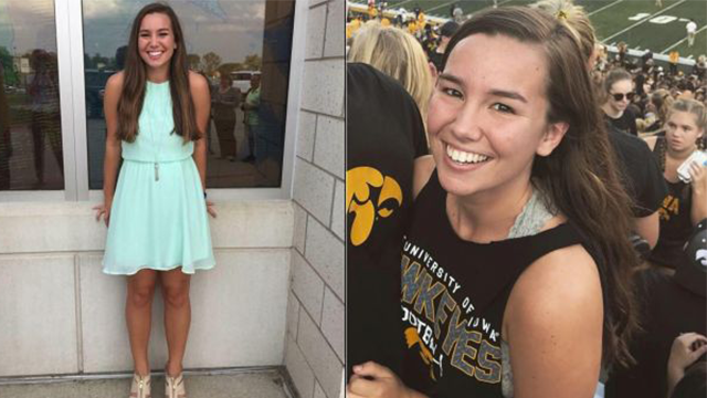 Mollie Tibbetts' Family Offers $172,000 Reward for Information Leading to Her Return